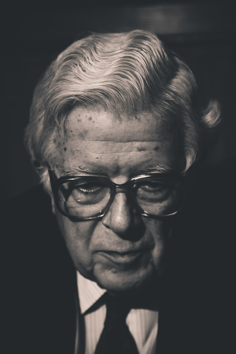 Lord Geoffrey Howe, Former Chancellor of the Exchequer