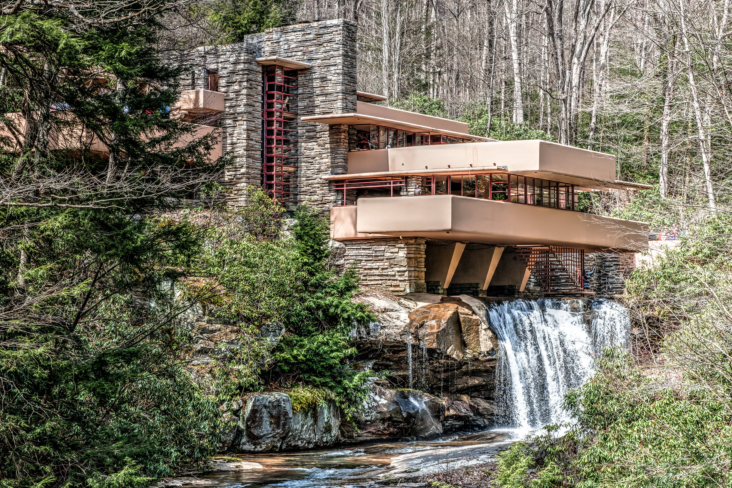 Falling Water, Mill Run, Pennsylvania