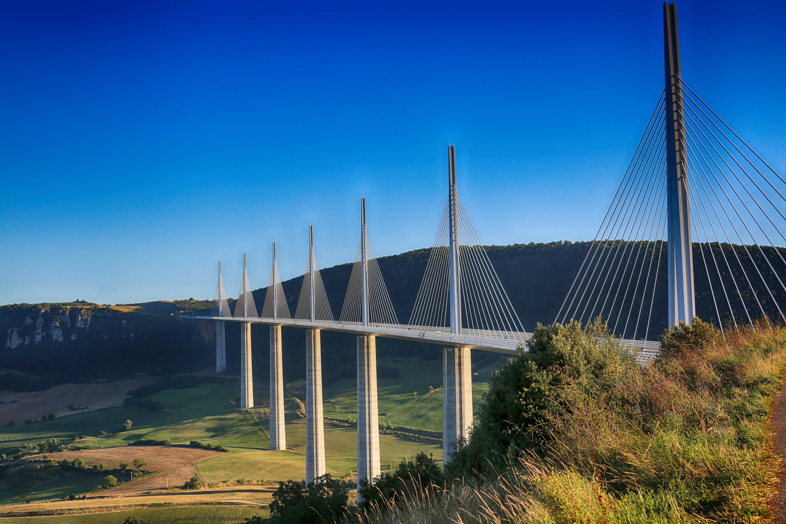 Millau Viaduct Bridge, France