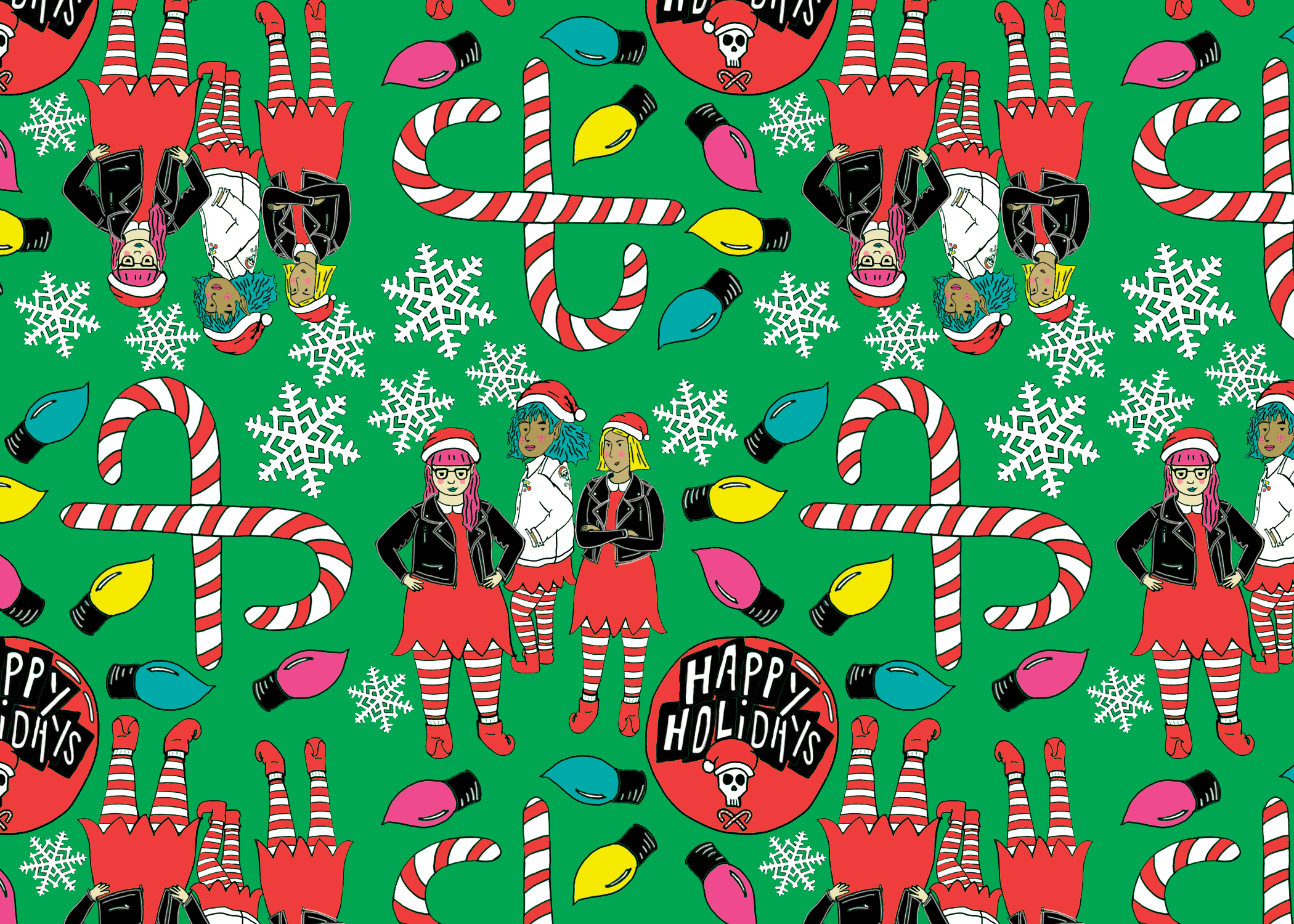 elf grrrl gift wrap for portfolio.jpg