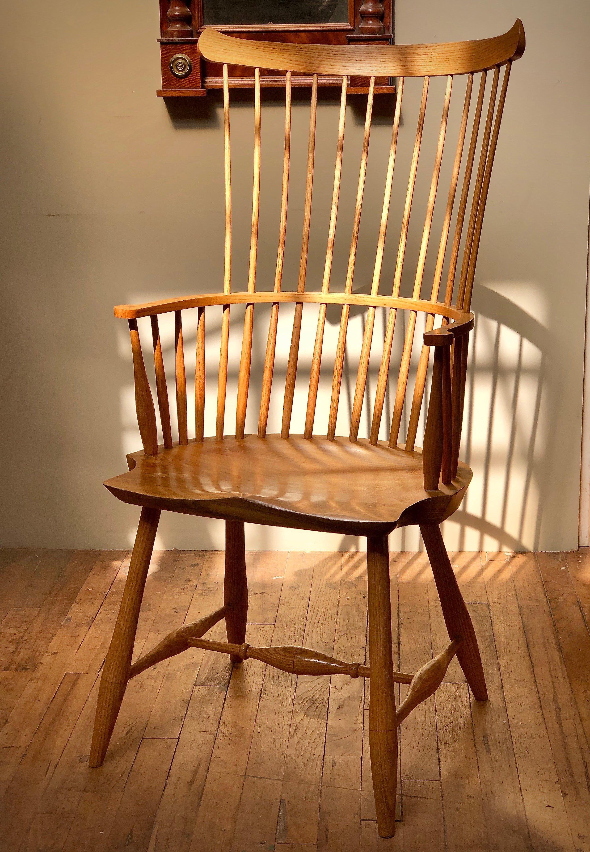 making a comb-back windsor chair — philadelphia furniture workshop