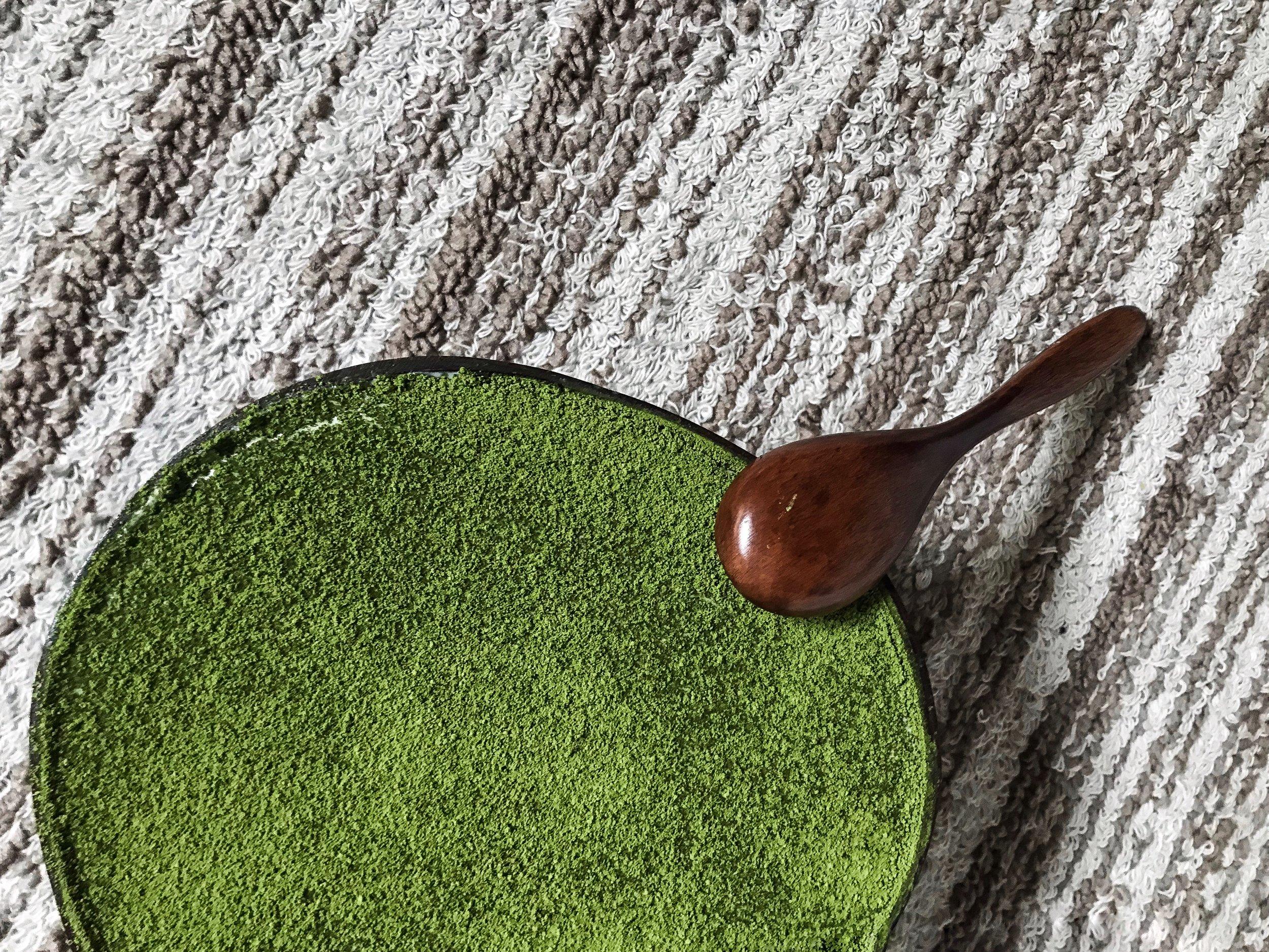 Matcha Coconut Tiramisu