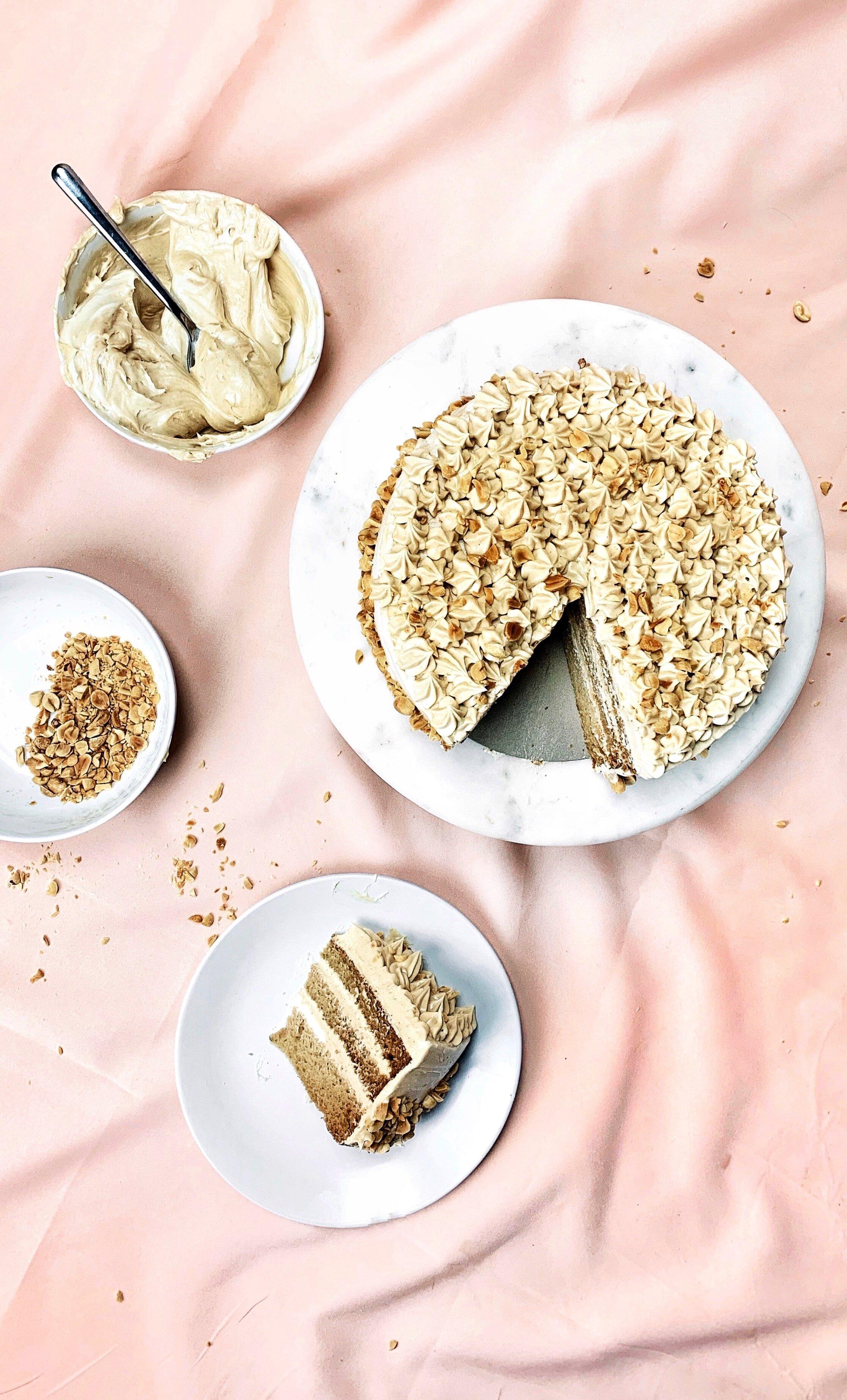 Peanut Butter & Apple Layer Cake - Brad & Butter | Sep 14, 2019