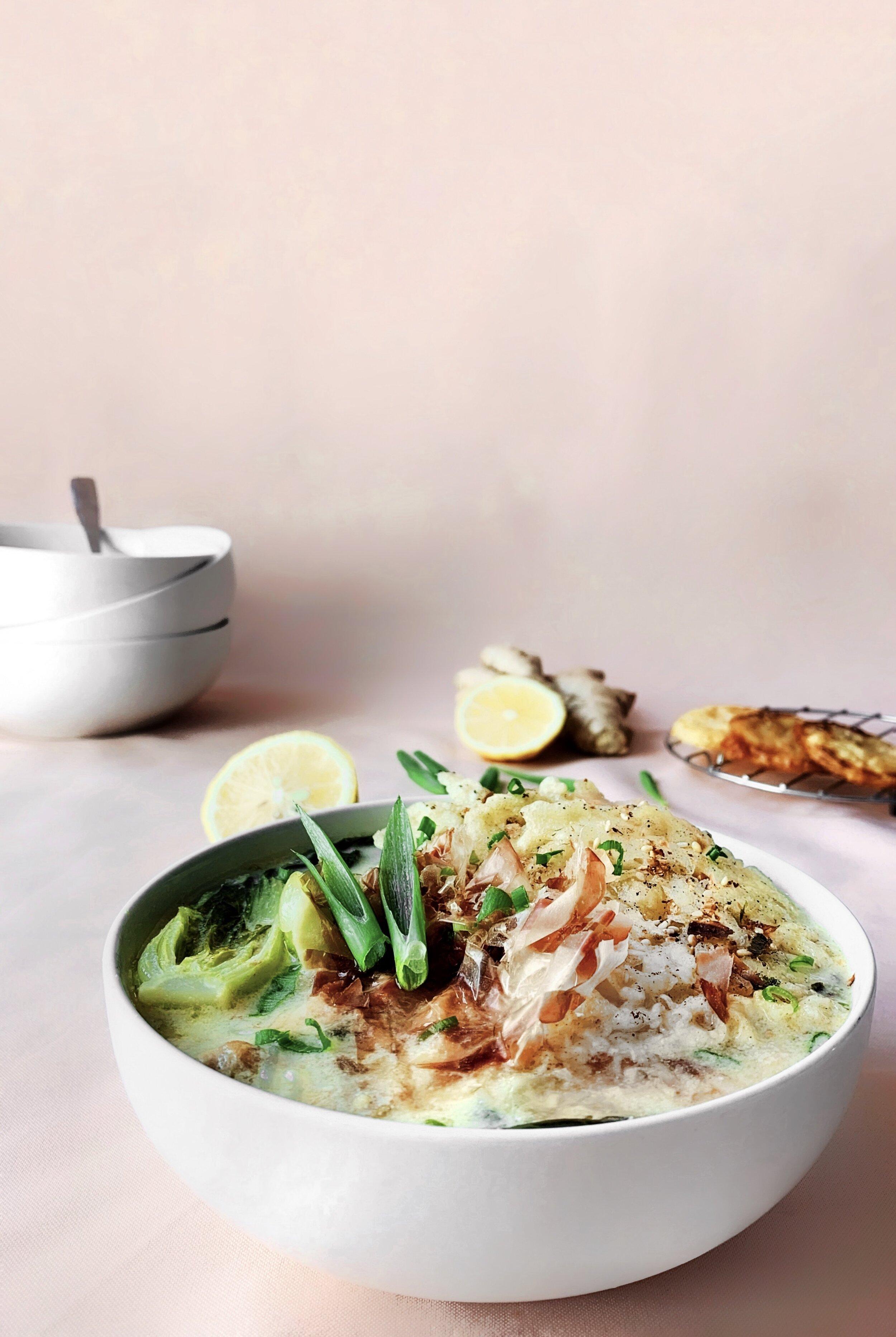 Lemon Miso Noodle Soup with Tempura Lemons - Brad & Butter | Sep 18, 2019