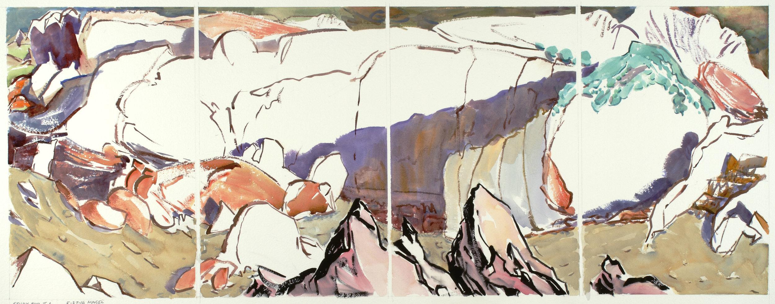 "Southwest: ""Study for Tierra Amarilla"" - 2015.041"