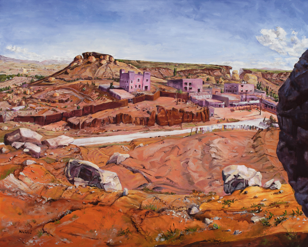 """Desert Town, Morocco"""