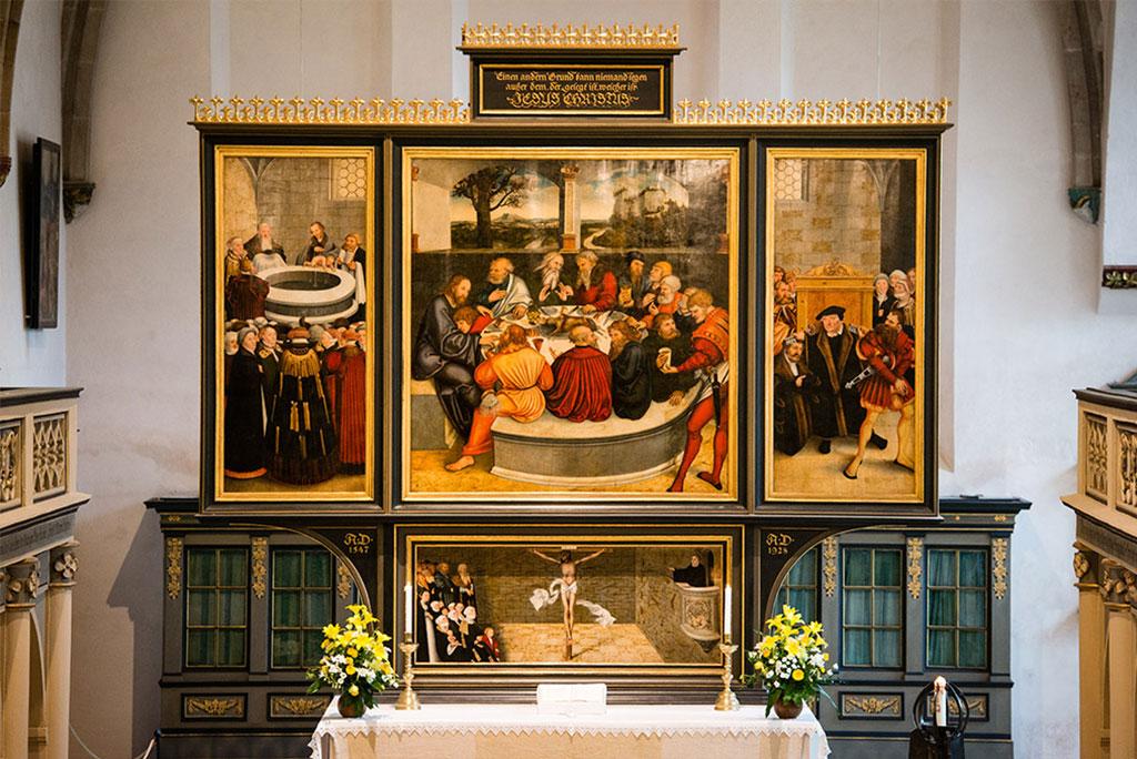 Wittenberg Altar by Lucas Cranaach