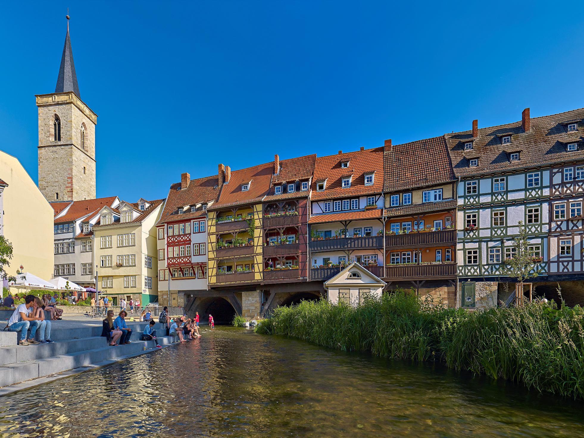Erfurt - Merchant's Bridge