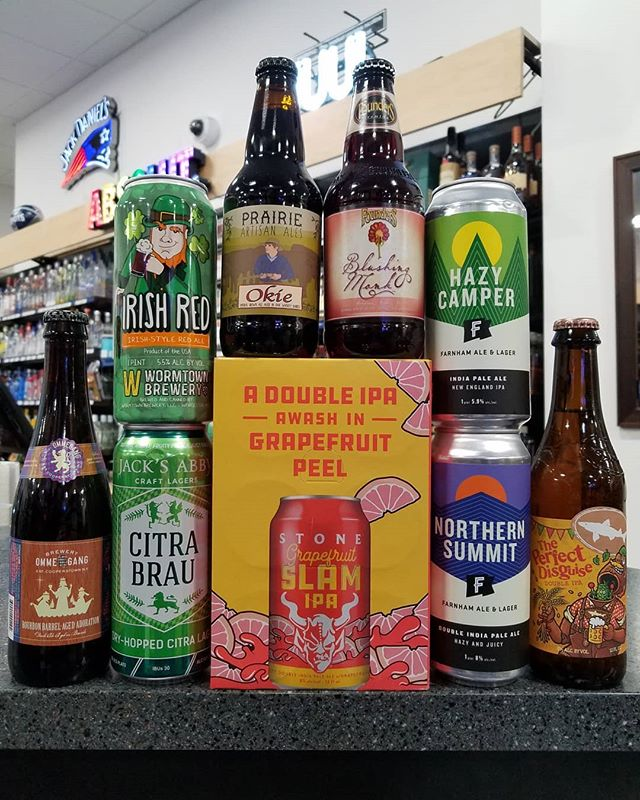 Lots of new and limited release beers this week, in addition to the debut of some fresh IPAs from @farnham_ale_lager_vt
