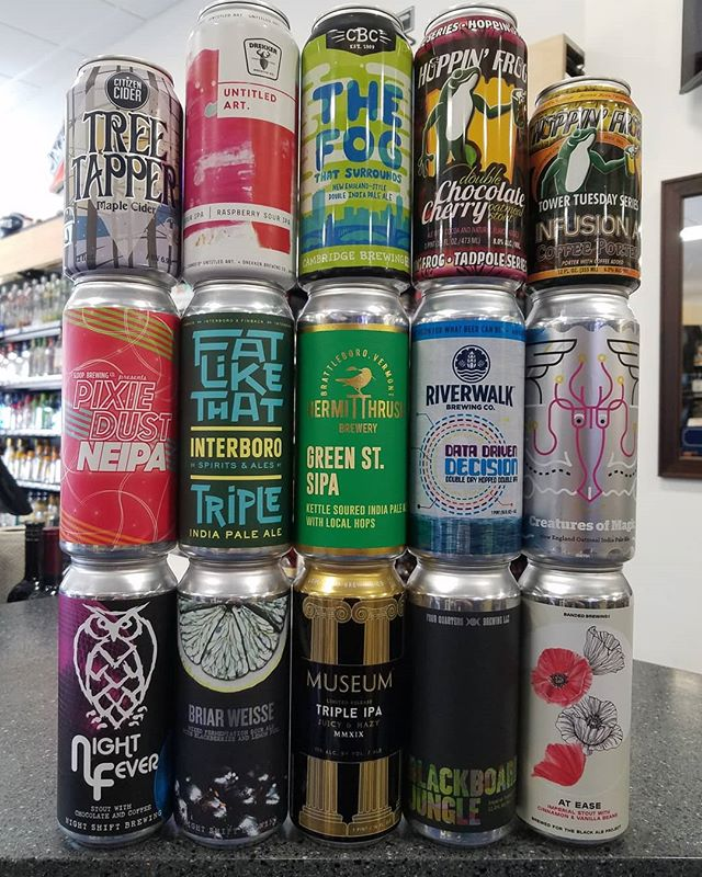 Once you've recovered from the Paddy's Day festivities, stop on in for some freshies.