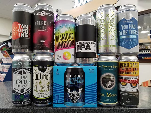 Lots of fresh IPAs this week, plus a collaboration marzen between @jacksabbycraftlagers and @kcbcbeer