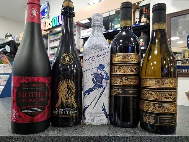 Whether you favor beer, wine, or spirits, we've got you covered for Sunday night #gameofthrones