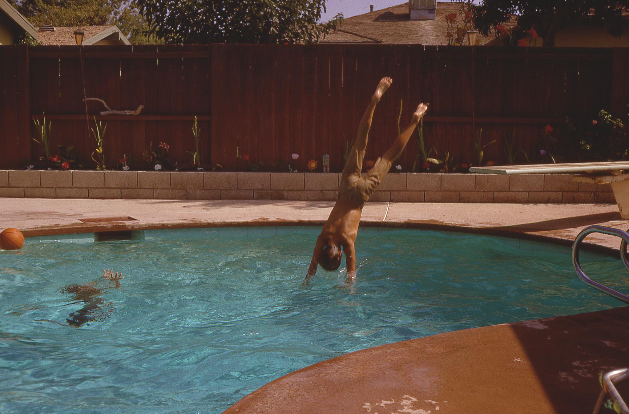 Michael Wiggins, Los Angeles, CA, 1971 (photo: James W. Wiggins, Jr. )