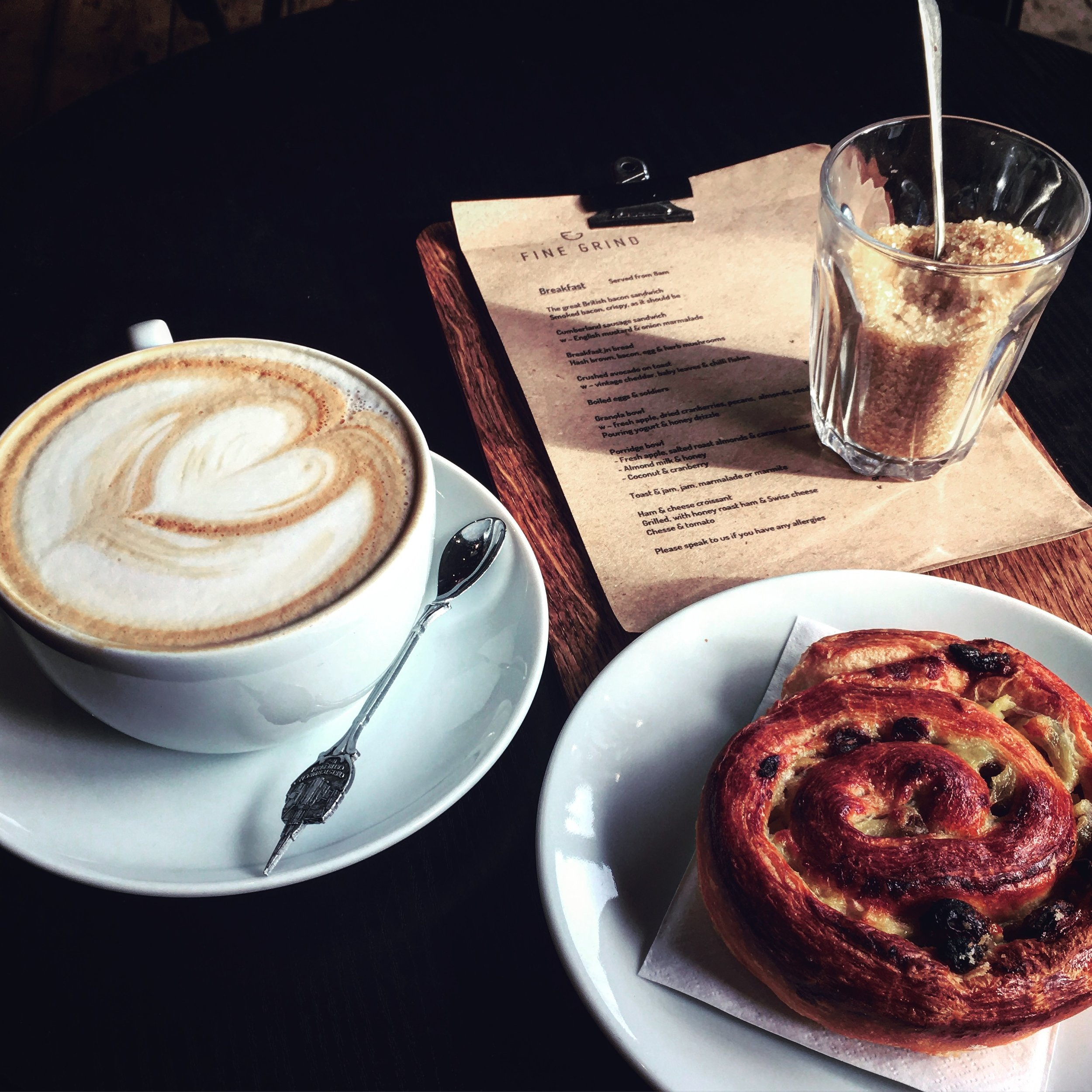 COFFEE & CAKE - Basil • Bean Smitten • Black Dog • Daily Bread • Find Grind • Juliets • The Bicycle Bakery • The Cake Shed • The Earl Grey Tearoom • The Pantiles Cafe