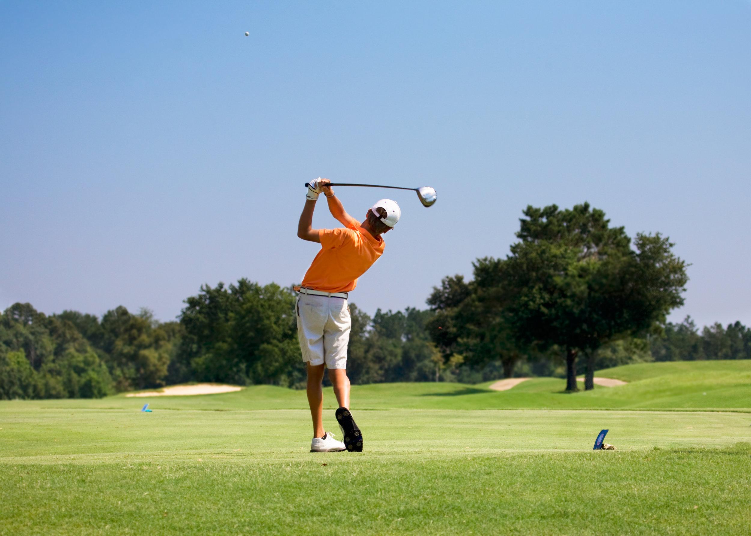 Male-Golfer