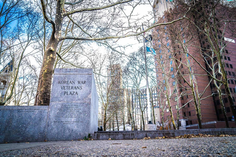 <strong>#21:</strong> Korean War Veterans Plaza