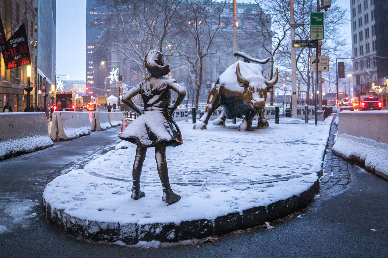 <strong>#16:</strong> Charging Bull and Fearless Girl