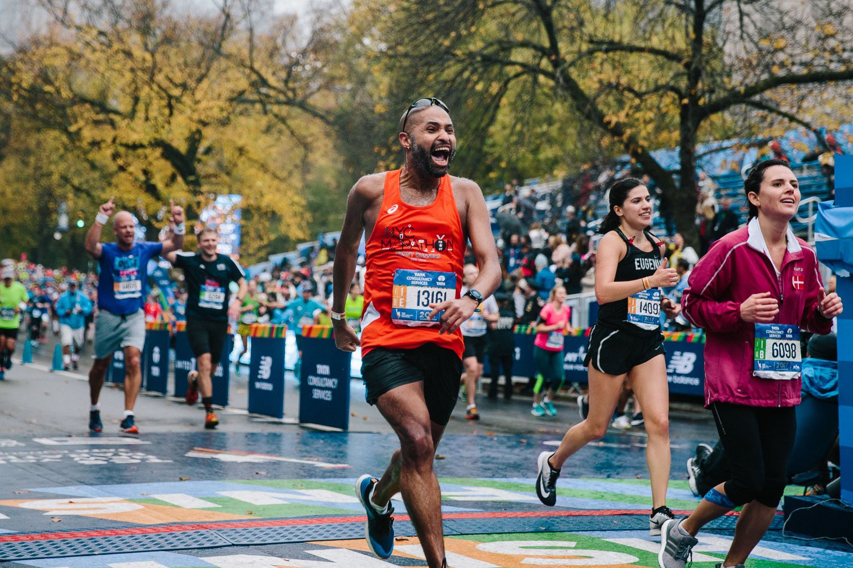 <strong>#14:</strong> TCS New York City Marathon Finish Line