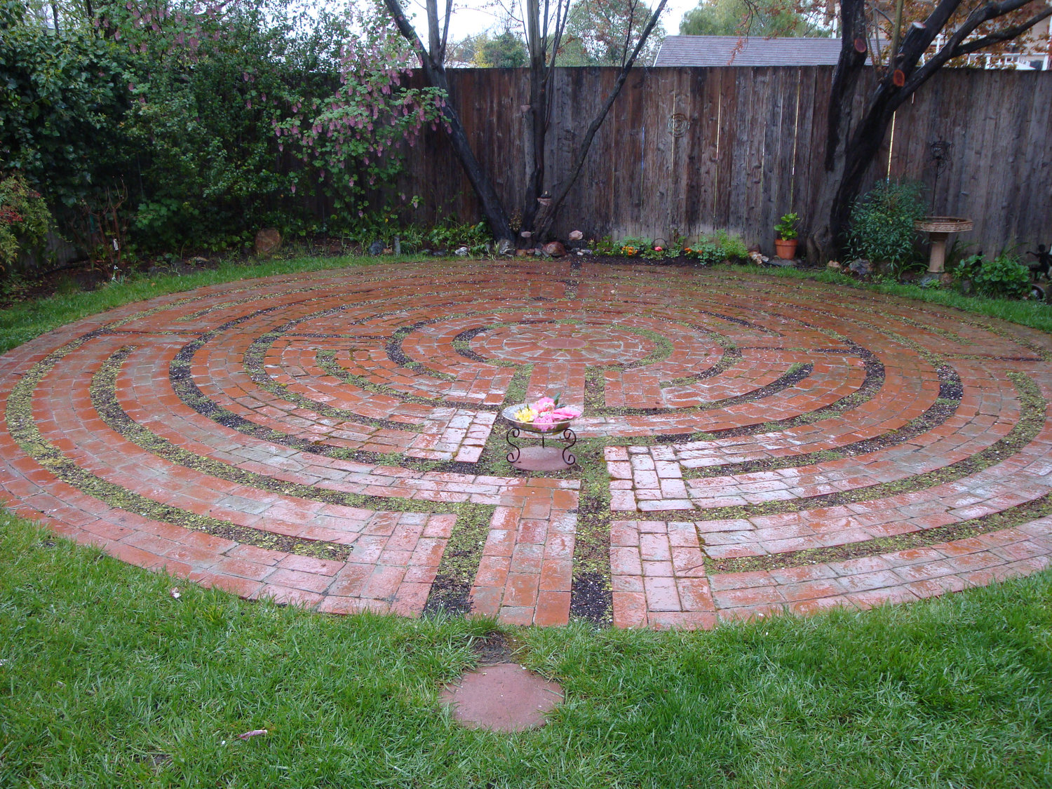 Santa Rosa Labyrinth, private installation