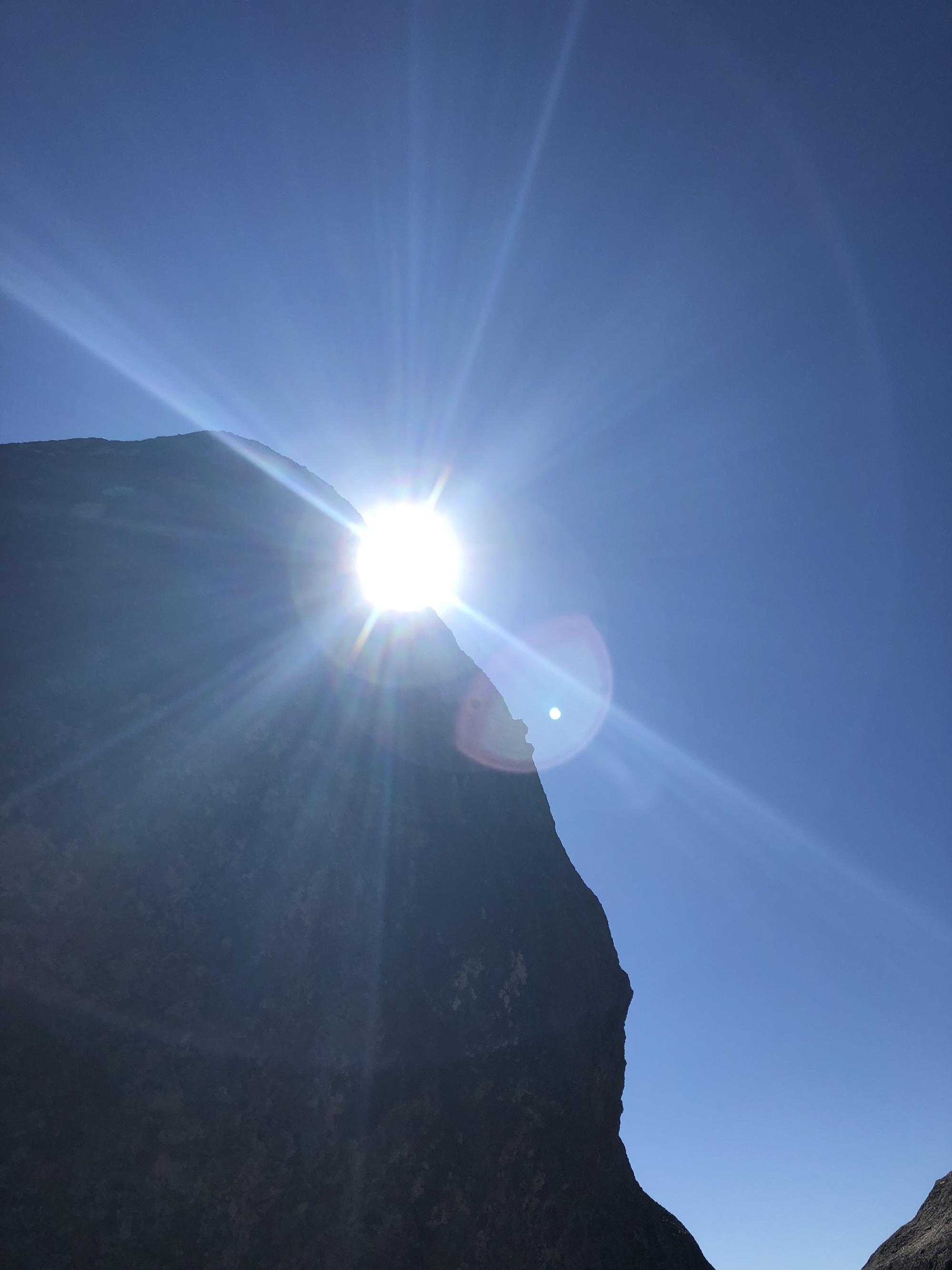 Rock formation along Table Rock Trail, Robert Louis Stevenson Park, Calistoga, CA