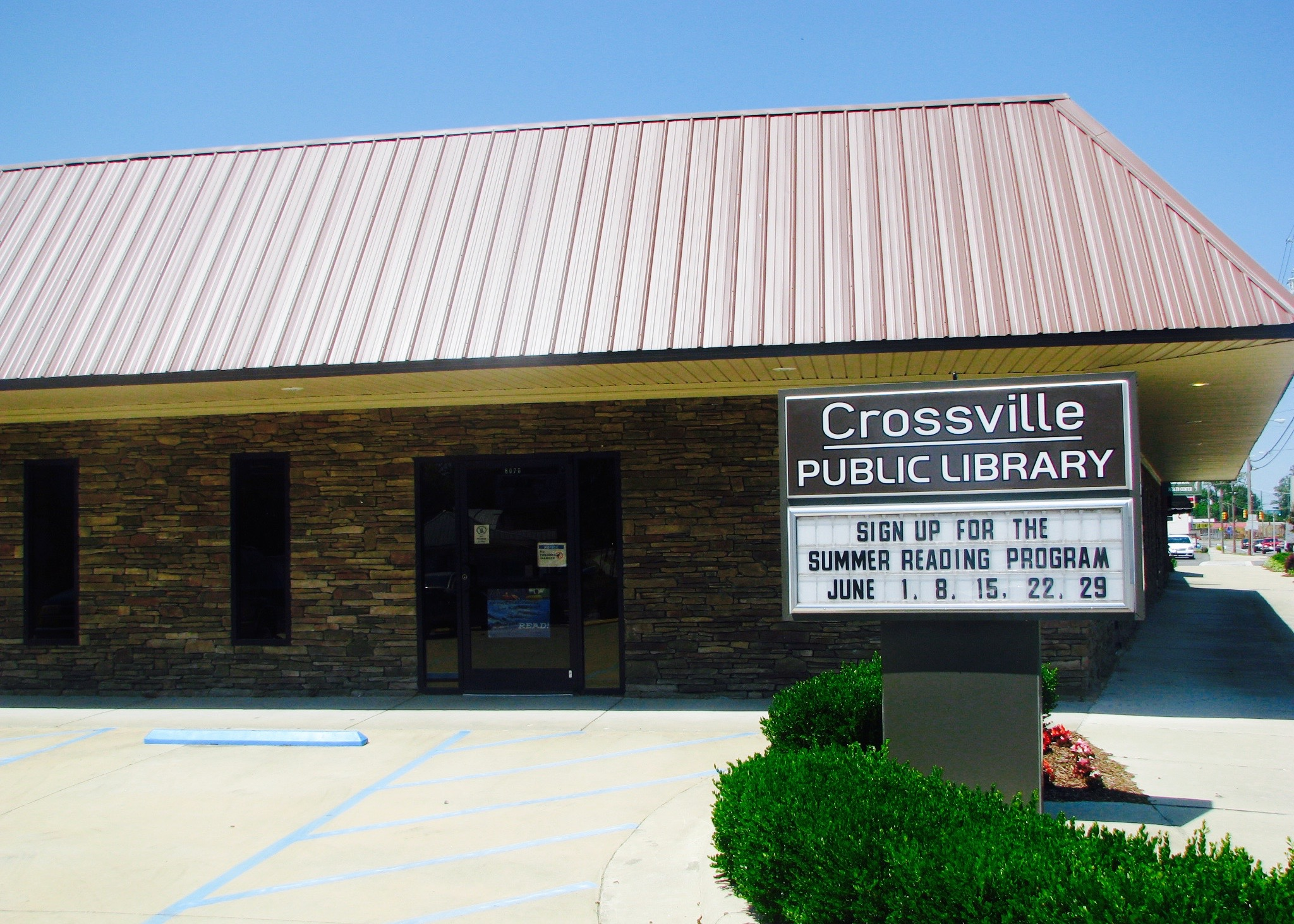 Crossville Library - Here you can learn all about our local public library and the programs they offer as well as a full catalog of the books that they have!