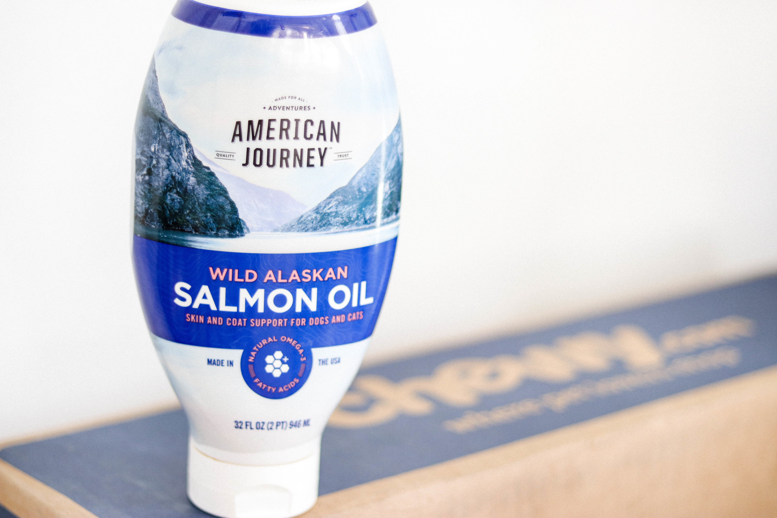 American Journey - Wild Alaskan Salmon Oil