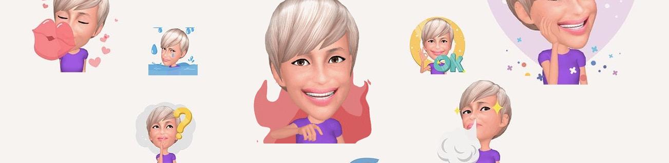 Samsung er komið með allskonar Emoji myndir