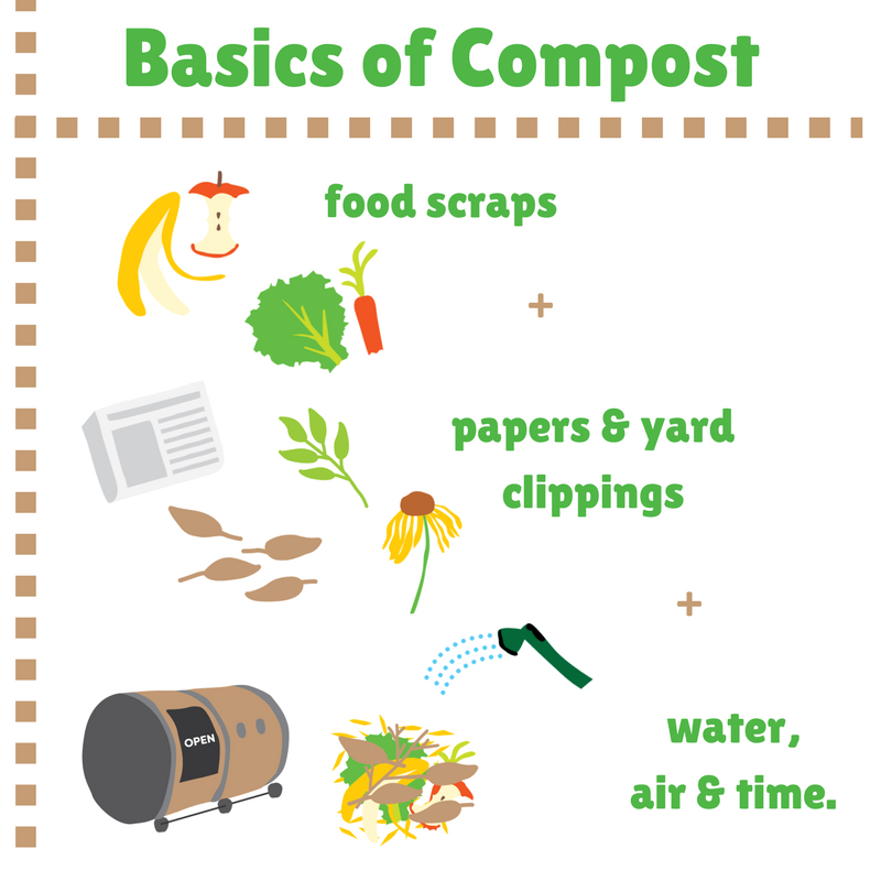 We approach compost education through tactile, sensory learning. -