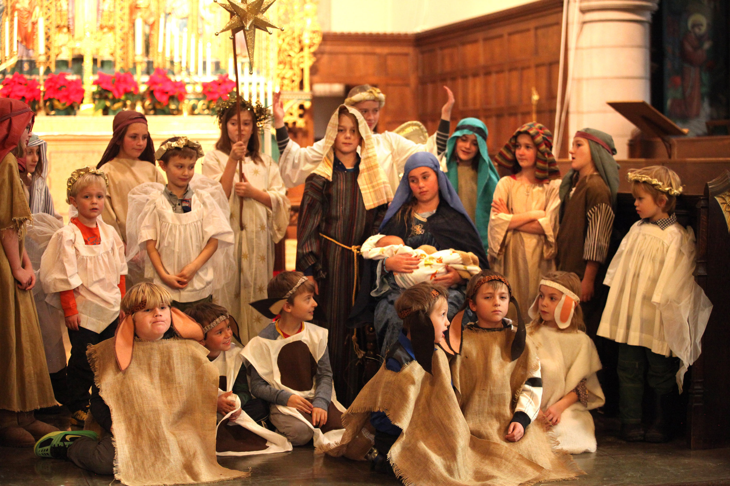 Christmas Pageant at Grace & St. Stephen's, Colorado Springs