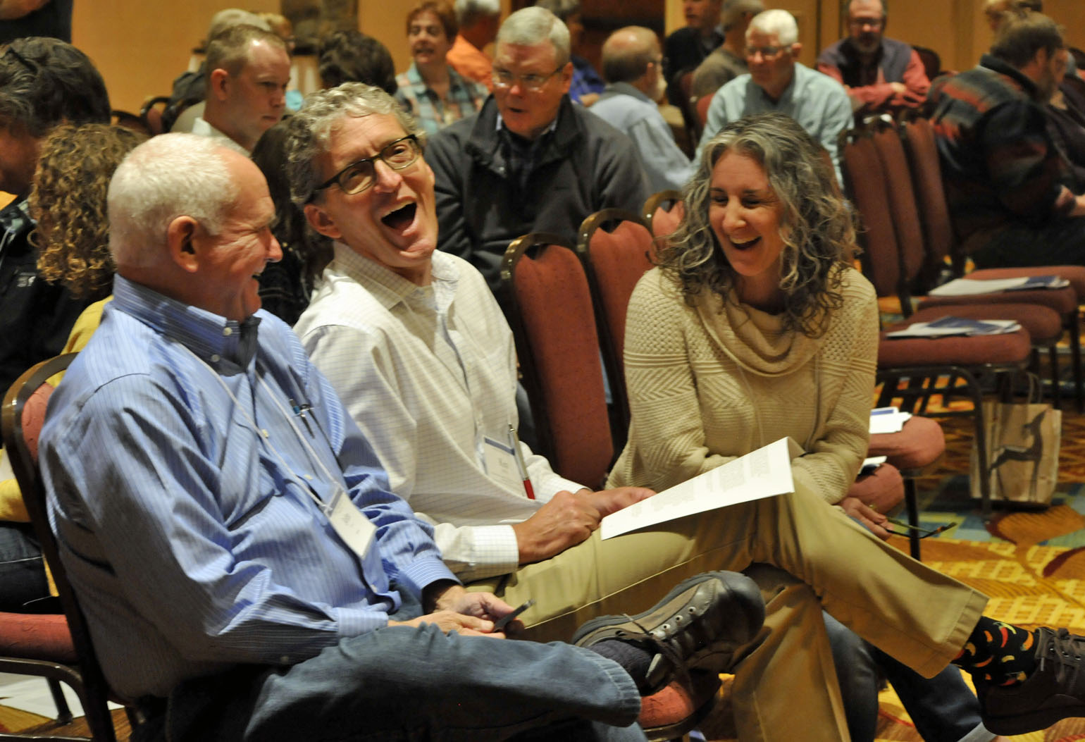 Clergy gather at the Annual Clergy Conference. Photo courtesy the Rev. Brian Winter