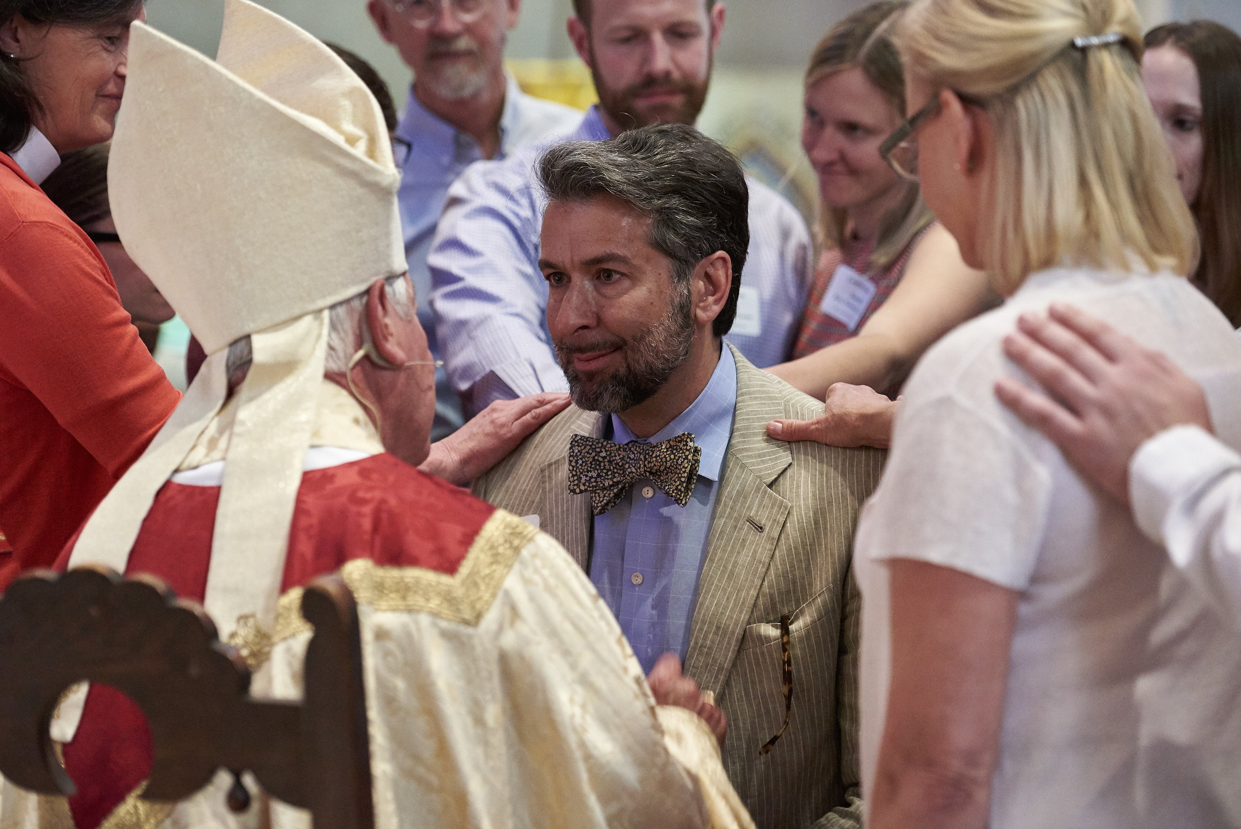 Confirmations with Bishop Winterrowd at St. John's Cathedral, Denver