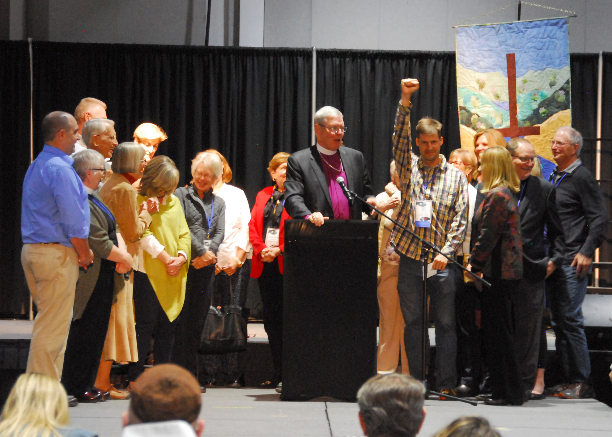 St. Peter in the Valley moves from mission status to parish status and is celebrated at the Annual Convention. Photo courtesy the Rev. Brian Winter
