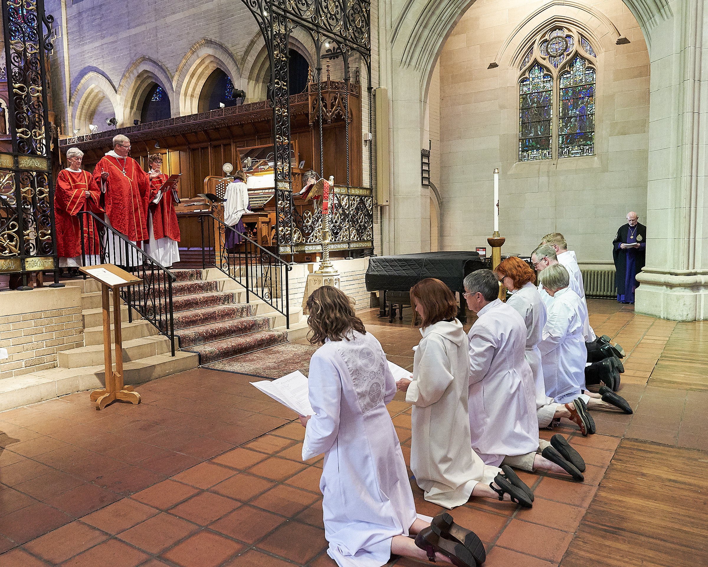 Ordinations at St. John's Cathedral, 2017. Photo courtesy Fred Mast