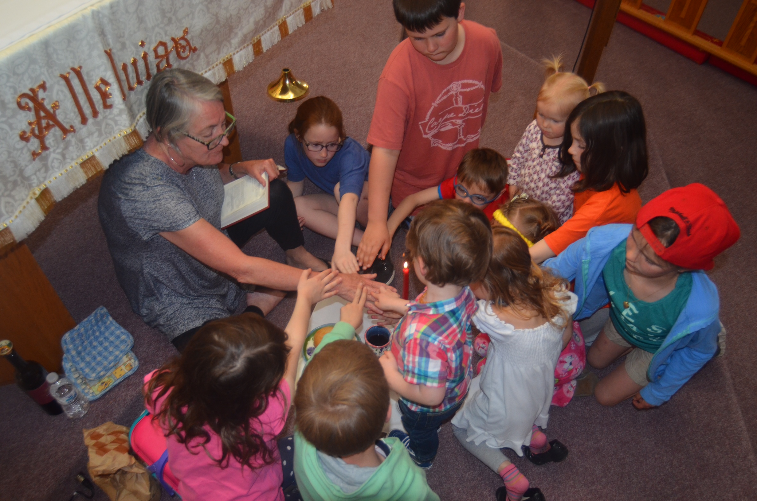 A Children's Service at St. Joseph, Lakewood, with the Rev. Michele Quinn