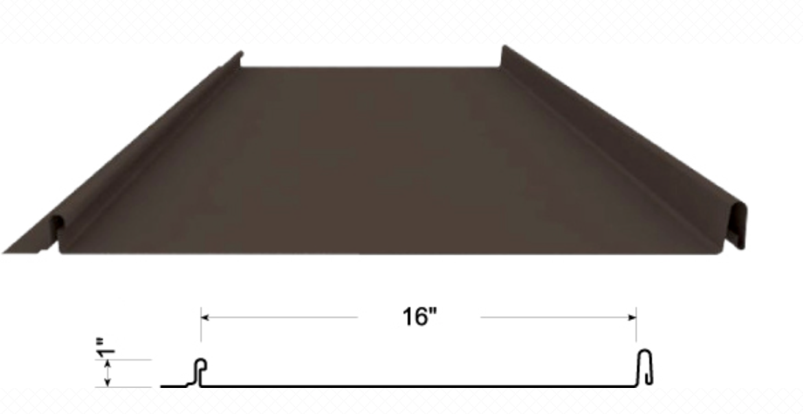 RapidSeam is a clean and attractive standing seam roof system with easy snap together installation.
