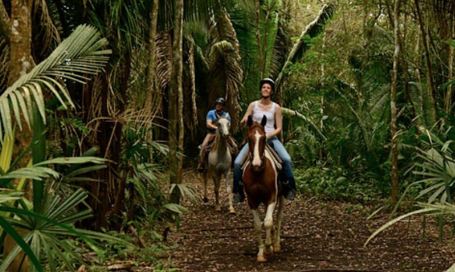 Horseback Riding - Leaving from Outback Stables, guests will pass through a citrus grove before entering the hills surrounding the Maya Mountains. See the remains of an ancient Maya Civilization until you reach the Sittee River. Take a break and a swim before hitting the trail on this half day excursion.