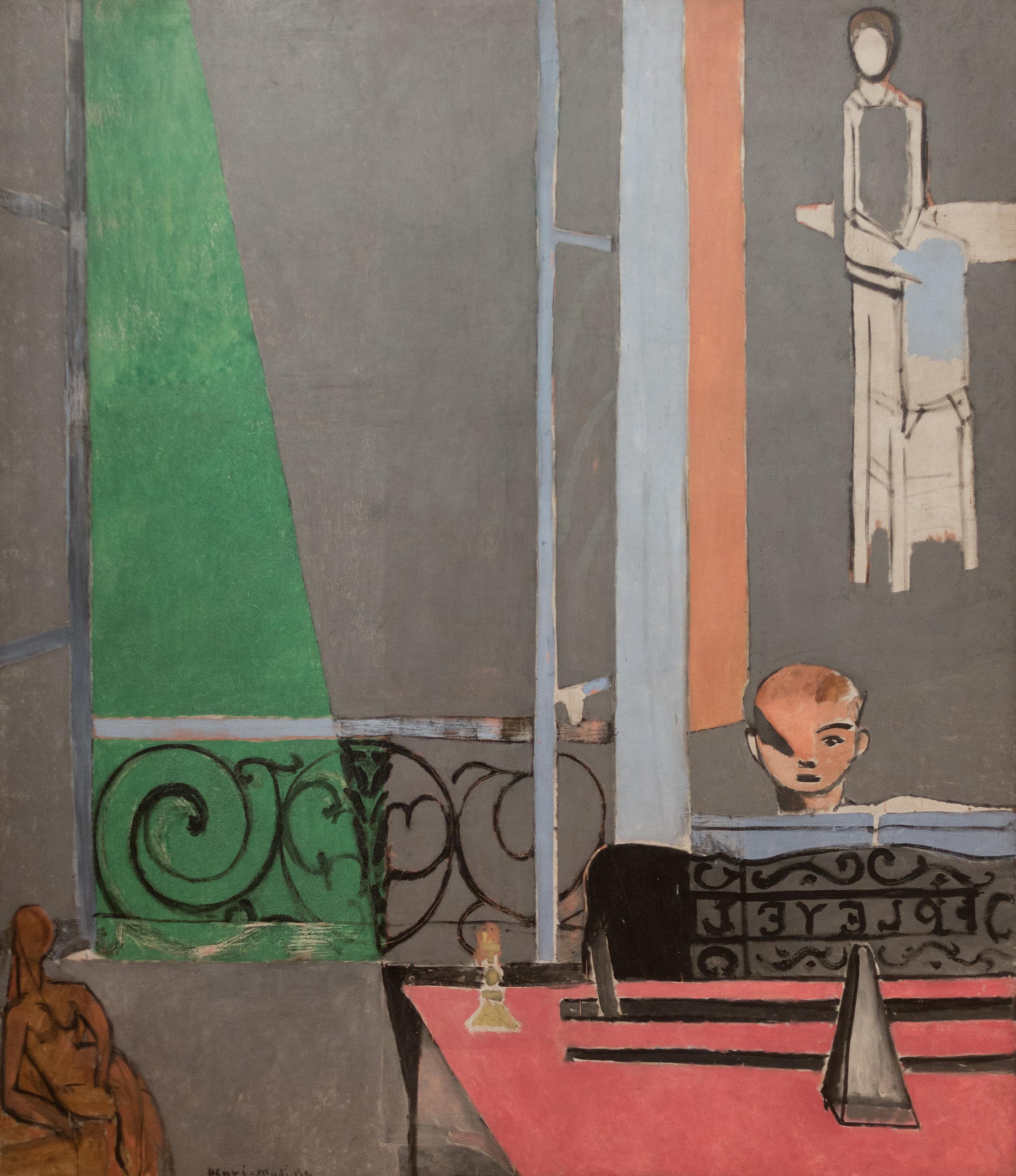 """(5) Henri Matisse """"The Piano Lesson"""""""