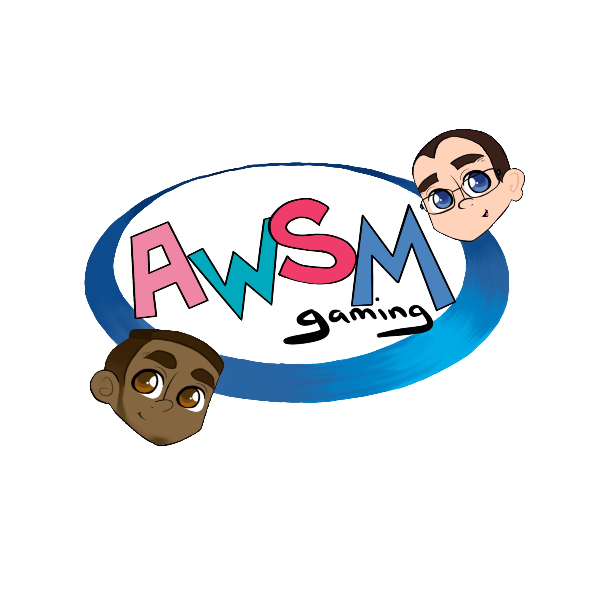 AWSM - Get it? Alex Wolfe and Stephen Marro! It's our initials! (Art by Rachael Cicci)
