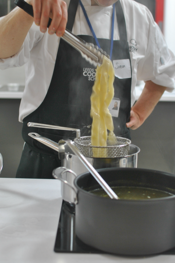 Pasta Making at Leeds Cookery School // Amy Elizabeth