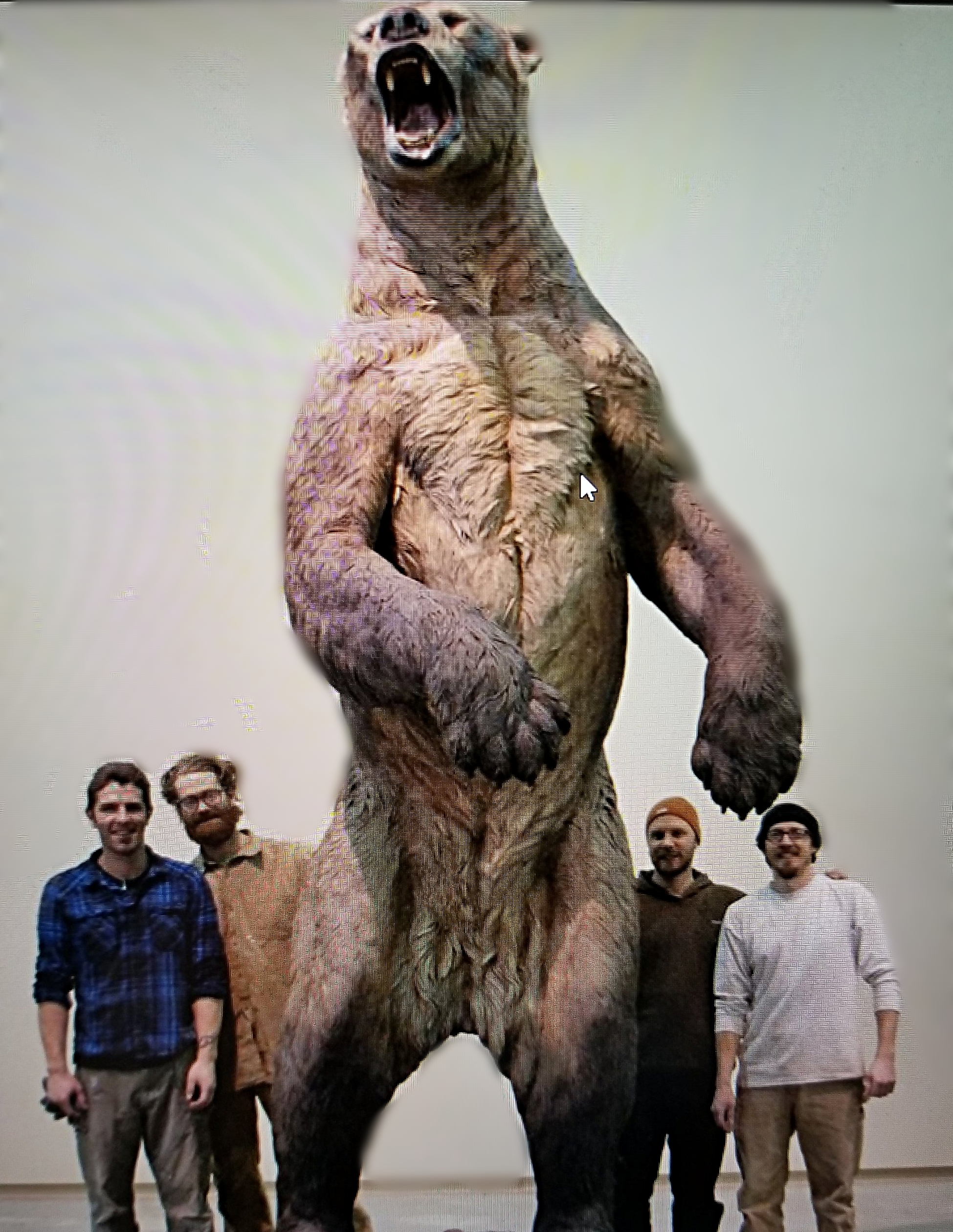 Seriously big bear (I borrowed this photo; credits unknown - sorry)