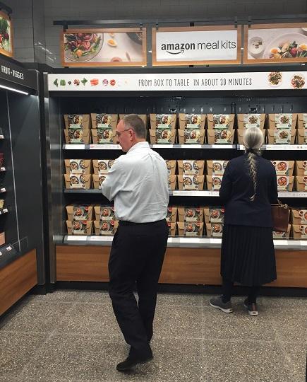 The shopper profile was diverse - not just millennial….