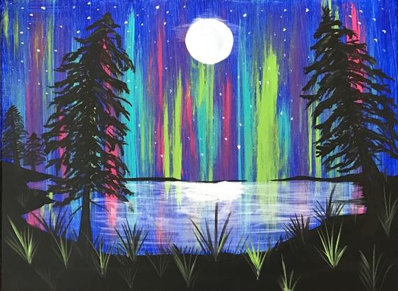 Painting Northern Lights Summer 2.jpg