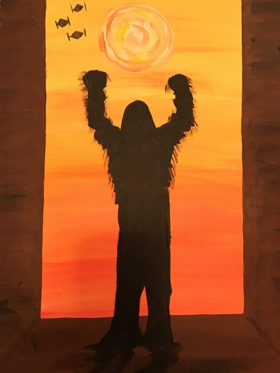 Painting Star Wars Chewbacca2.jpg