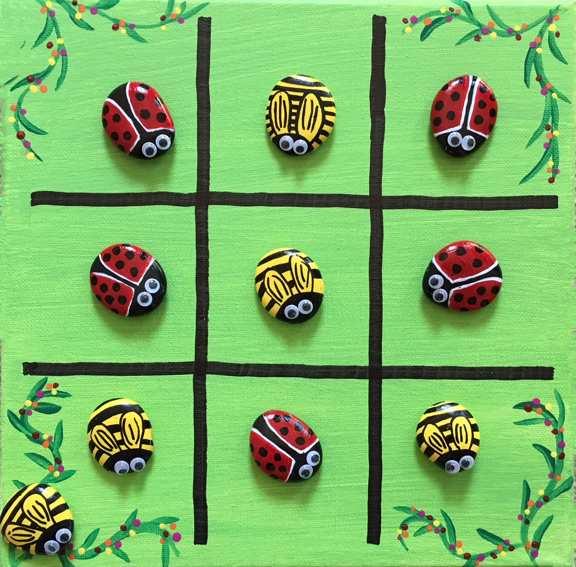 Tic Tac Toe - Ladybugs & Bees