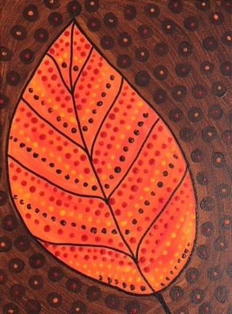 Painting Fall Leaf Orange.jpg