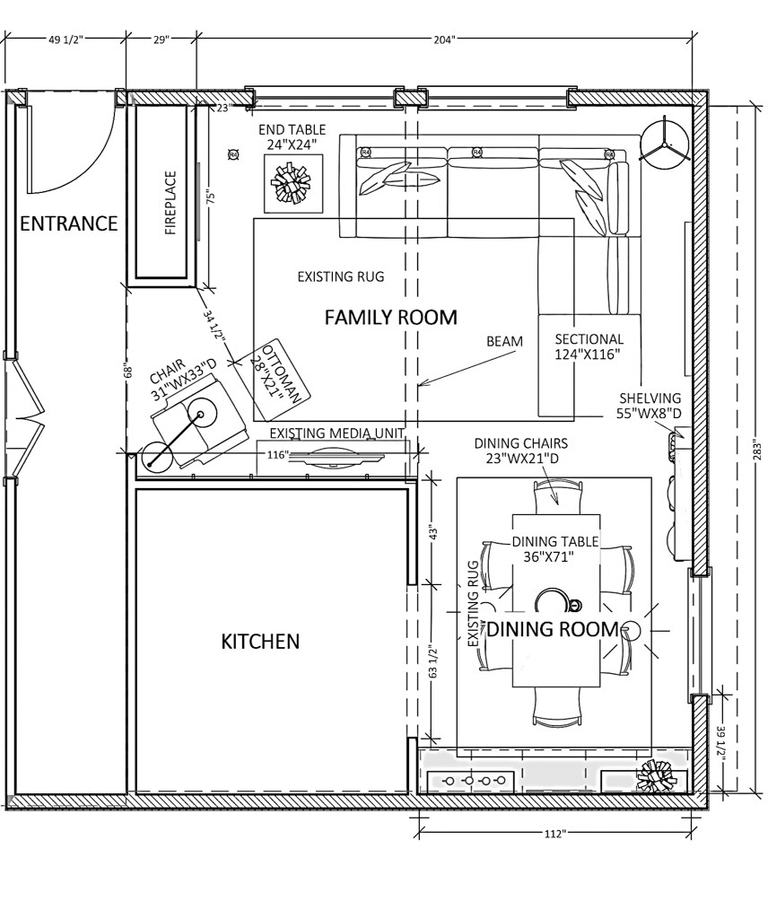 Floor Plan - Option 1