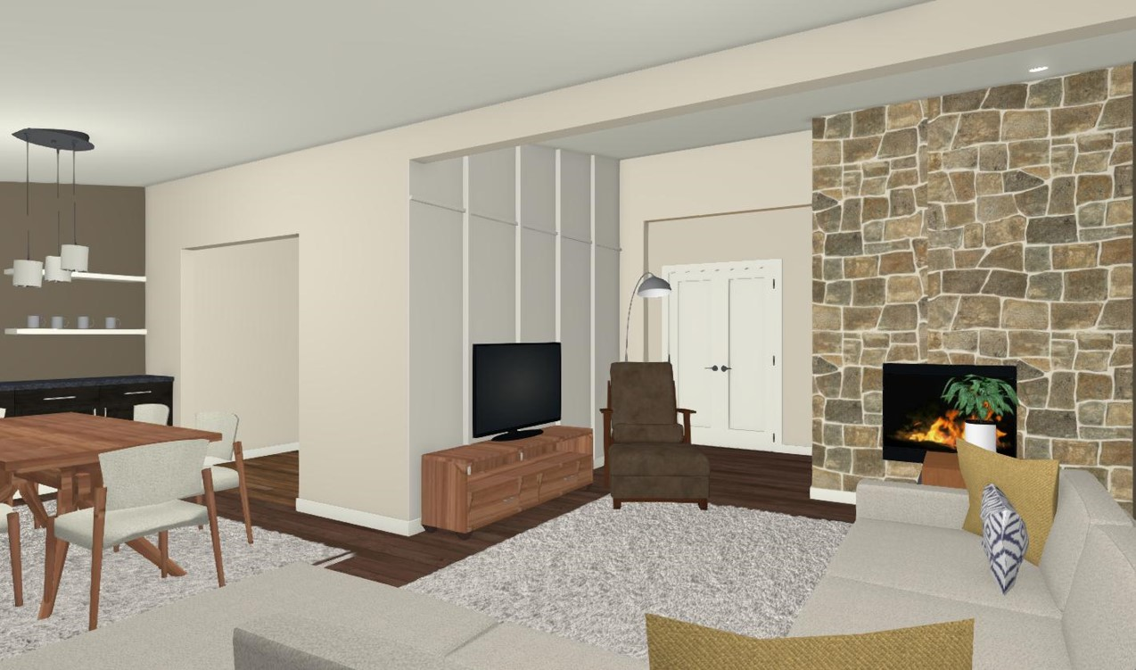Option 1 - Living Room