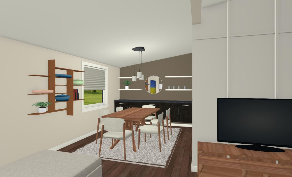 Option 1 - Dining Room
