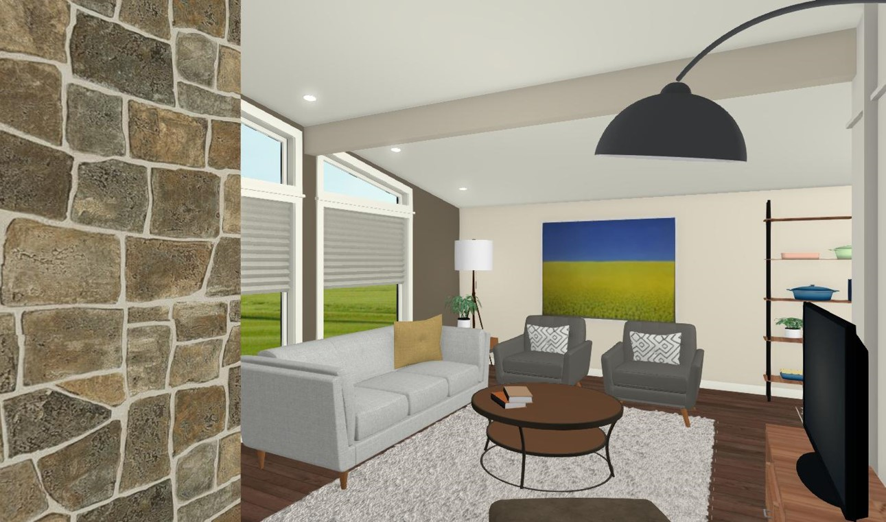 Option 2 - Living Room