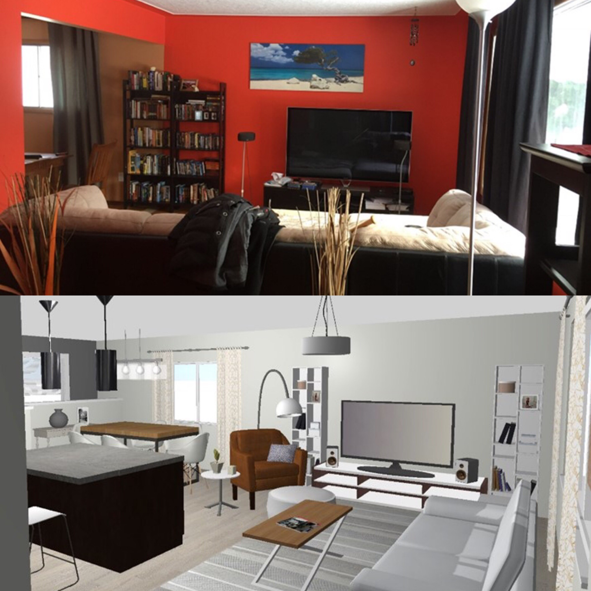 Let Buyers See the Potential - We can develop a new floor plan and 3D image of what a space could look like when updated. Help potential buyers see the finished space and include the new floor plan and 3D image in your online listing and display at your upcoming open house.